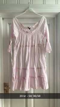 Rosa scoop-neck bluse Saltnes, 1642