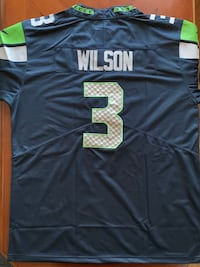 Russell Wilson, Seattle Seahawks Jersey, Nike Men's Large
