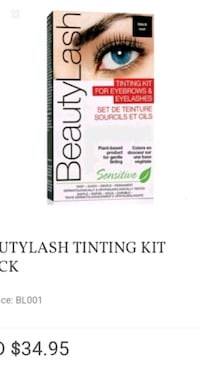 Beauty lash tinting kit for brows + lashes NIB Brampton, L6V 4S1