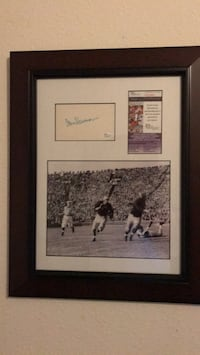 RARE Tom Harmon autograph. JSA authenticated ! Spring Hill, 34610