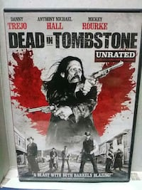 Dead in Tombstone dvd