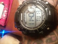 round black digital watch with black strap Germantown, 20876