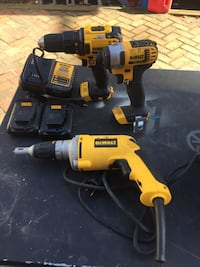 Dewalt cordless power drill and impact wrench Silver Spring, 20902