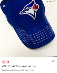 •BLUE JAYS•basketball hat London, N5V 1H5