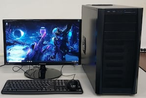 Custom i7-4771 Windows 10 Gaming System with RX470