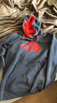 The North Face pullover hoodie Raleigh, 27603