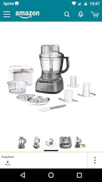 KitchenAid food processor Leesburg, 20175