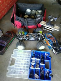 Team associated $ 190  for all alote extra parts  Downey, 90242