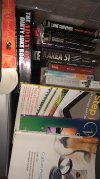 assorted book collection