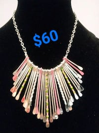 pink and white beaded necklace San Diego, 92101