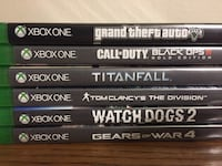 XBOX ONE GAMES Waterloo, N2L 4S9