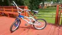 white and blue BMX bike Silver Spring, 20901
