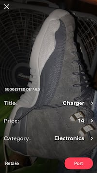 pair of gray Adidas Yeezy Boost 350 V2 Baltimore, 21237