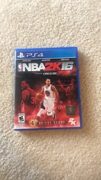 NBA 2k 16  PS4 game Mount Airy, 21771