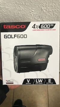 Black tasco gold 600 laser