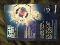 white Oral-B battery operated toothbrush box Calgary, T2W 2E6