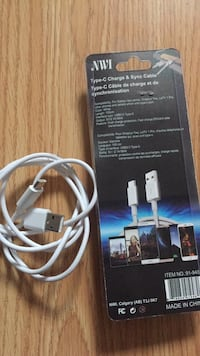 white type-c charge & sync cable with box Edmonton, T5W 0M7