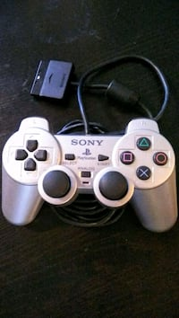 PS1 + PS2 Dual Shock 2 Silver Controller New Westminster, V3M 3Y3