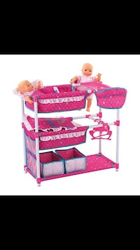Baby Doll Bunk Bed and Storage Williamsport, 21795