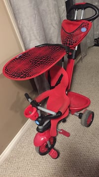 Toddler's red and black push trike Calgary, T3J 0A6