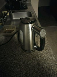 gray and black electric kettle 54 km