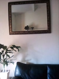 brown wooden framed wall mirror San Jose, 95123