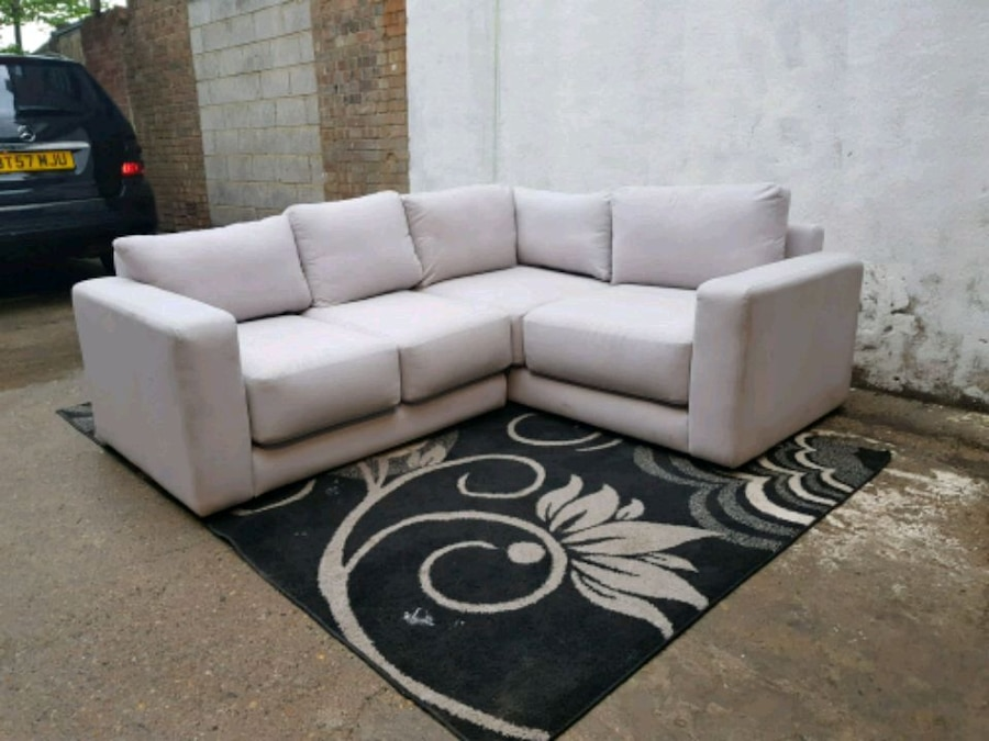 used x display grey fabric corner sofa for sale in west drayton letgo rh gb letgo com