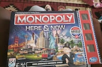 Monopoly Here and Now Almost new