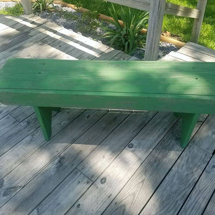 Beautiful vintage bench