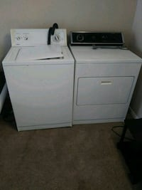 white washer and dryer set Dallas, 75214