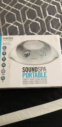 white Homedics soundspa portable sound machine box Covington, 30016