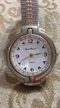 EMILE RENAUD CLASSIC LADIES WATCH GORGEOUS CONDITION!! Stainless steel & Gold plate Edmonton, T5T