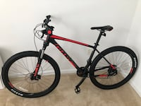 Black and red hardtail mountain bike Germantown, 20874