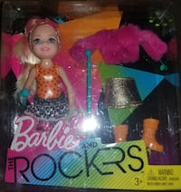 Barbie and the rockers kelly barbie NEW