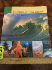 Essentials of Oceanograhy (Penn State Edition), by Tom Garrison Dumfries