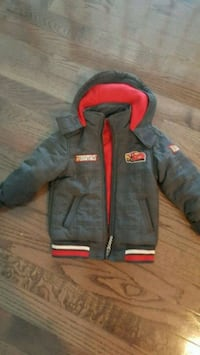 Lightening mcqueen winter jacket 5t Burlington, L7T 4A3