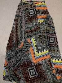 Tribal Maxi Skirt By Marciano  Whitby, L1N 4S4