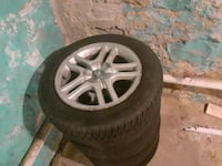 16in rims with tires5/100 $150 or trade for something around price  Allentown, 18101