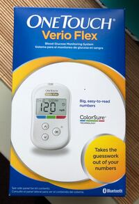 OneTouch Verio Flex Blood Glucose Test Monitoring System NEW IN BOX University Park, 20782