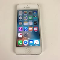 iPhone 5 AT&T T-Mobile Cricket 16gb ICloud cleared, clean IMEI Fresno, 93726