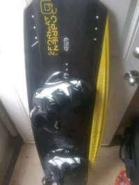 O'Brien wakeboard with boots and life jacket