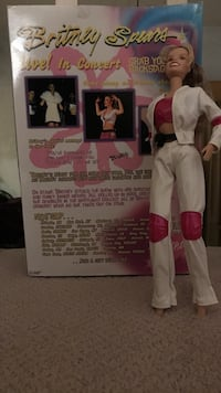 Britney Spears doll with box