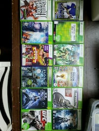 Assorted Xbox 360 games Whitchurch-Stouffville, L4A 0S5