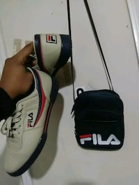 Fila shoes and matching bag