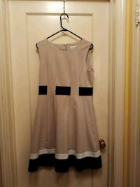 Blk/tan/why Clavin Klein Dress size 12 Temple Hills, 20748