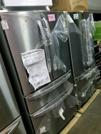 Brand new French doors refrigerator excellent cond Baltimore, 21223