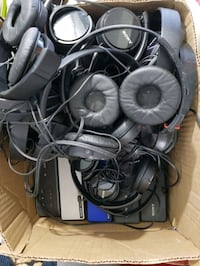 Multiple Sony Headsets & 18 Bluetooth Speakers  ***NOT TESTED*** Toronto, M6E 4P5