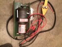 Electric winch/controller Lloydminster (Part), T9V