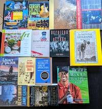 Photography, History, Sports, National Geographic, Guitar Book Lot Victoria, V8N 3E1