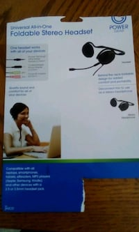 headphones brand new universal foldable St. Thomas, N5P 3M7